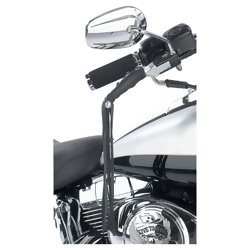 GFLEVER - Diamond Plate™ Solid Genuine Leather Motorcycle Lever